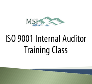 ISO 9001 Internal Auditing Training