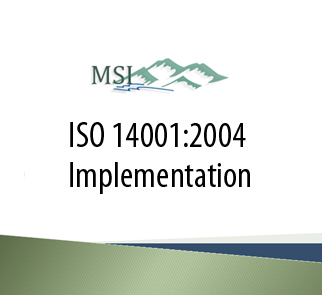 ISO Training for 14001
