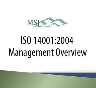 ISO 14001 Management Training