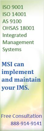 ISO Management System Standards