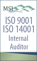 ISO 9001/14001 Internal Auditor