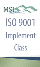 ISO 9001: 2015 Implementation
