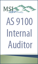 AS 9100 C Internal Auditor