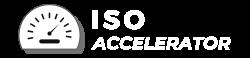 ISO Accelerator Logo Greyscale